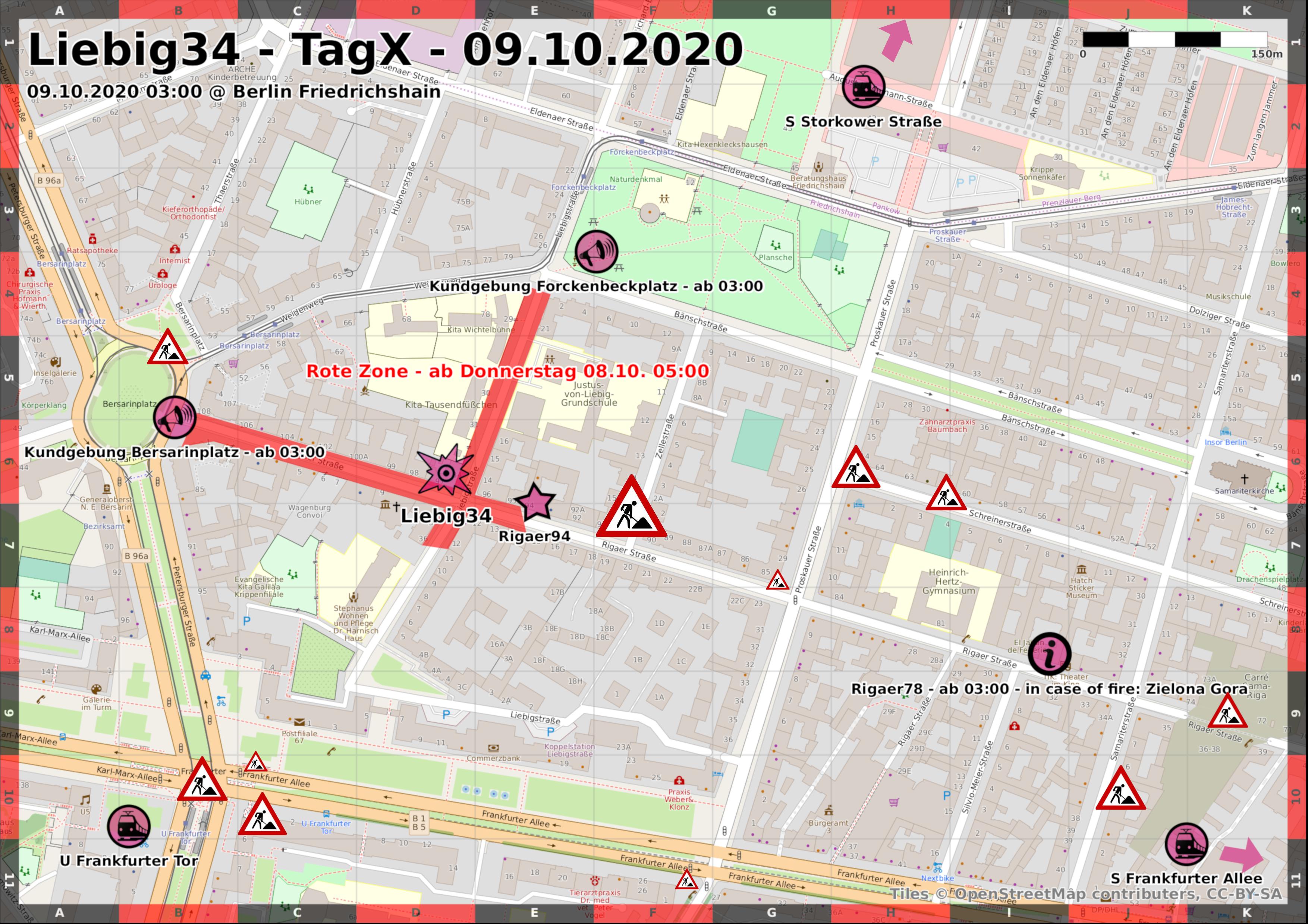 Aktionskarte Liebig34 Tag X